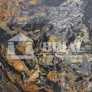 Magma Gold, Magma Black, granit brazylijski, Brazylia, efektowny granit na blaty, granit na blat kuchenny, złoto-czarny granit na blat