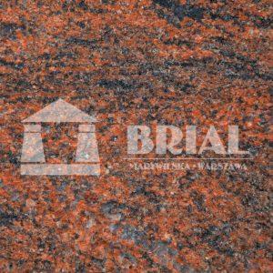 Multicolor - piękny szaro-czerwony granit na blat kuchenny, piękny granit, Warszawa