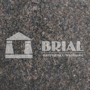 Safir Brown, brązowy granit na blat kuchenny - zakład kamieniarski Warszawa - Brial Marywilska