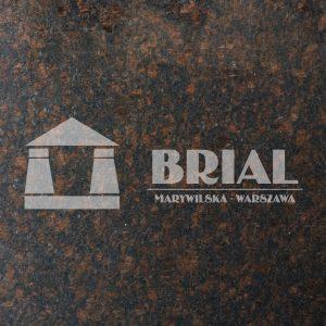 Tan Brown poler (granit dostępny również w wykończeniu satynowanym)