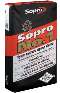 Sopro No.1 (400) zaprawa klejowa do kamieni naturalnych, zaprawa klejowa do kamienia