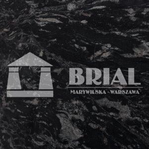 Black Forest poler, czarny wzorzysty granit na blat, bar z granitu, czarny elegancki granit